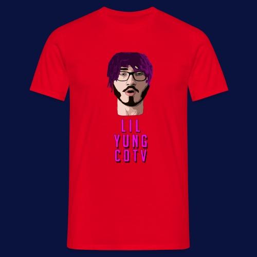 LIL YUNG CDTV ALT. TEXT - Men's T-Shirt