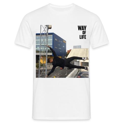 Way of life - Men's T-Shirt