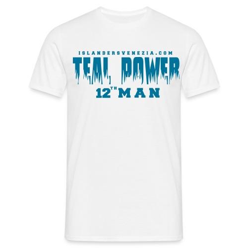 teal power - Maglietta da uomo