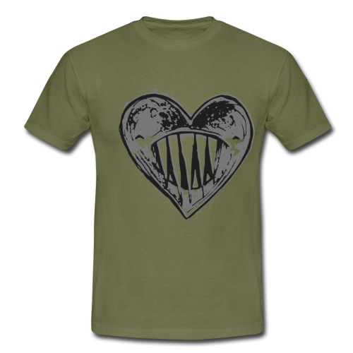 Corazón Negro - Camiseta hombre