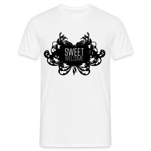 SW SVART STOR - T-shirt herr