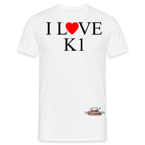 i love k1 nera - Men's T-Shirt