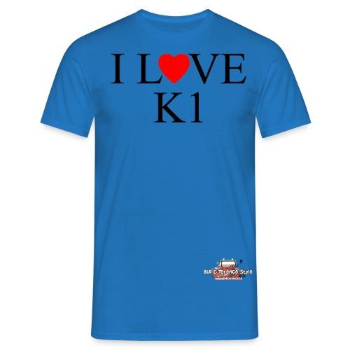i love k1 nera - Men's T-Shirt
