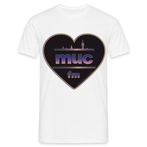 muc fm - Männer T-Shirt
