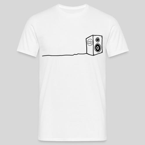 Sesh'sa Musika Official 'Speaker' Label logo - Men's T-Shirt