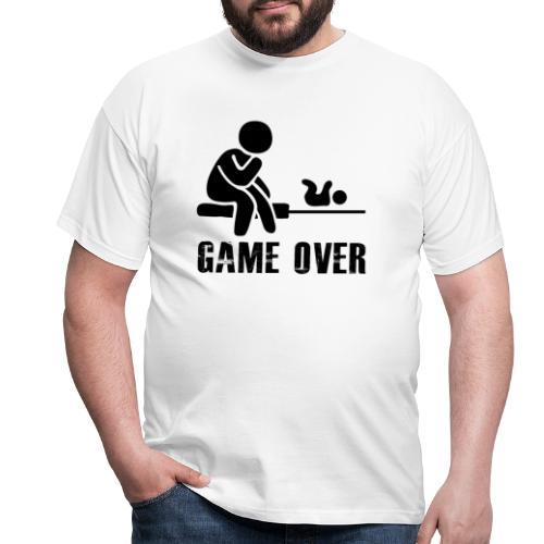 Game Over Werdender Vater - Männer T-Shirt