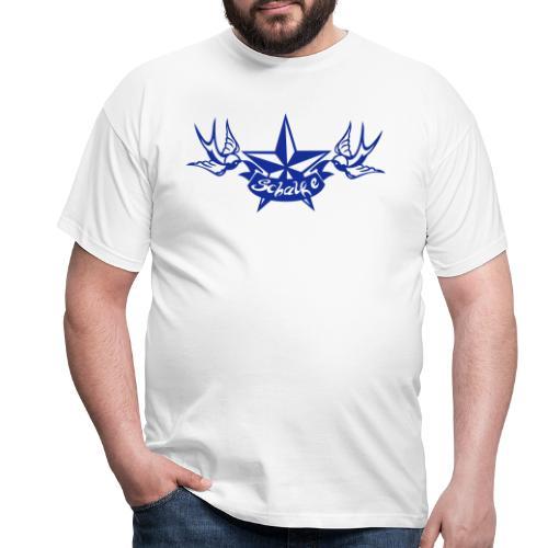 Schalke Tattoo - Männer T-Shirt