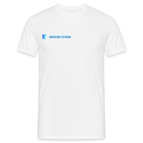 KomvilCraft   MINIMALISTISCH + Text - Männer T-Shirt
