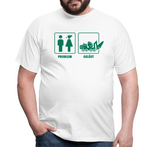 Forst | Problem gelöst - Männer T-Shirt