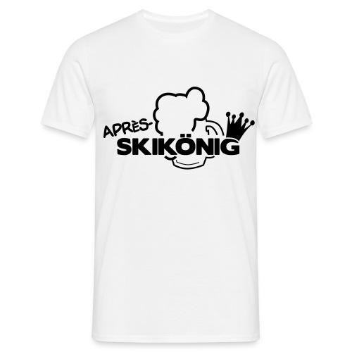 Apres Ski König - Männer T-Shirt
