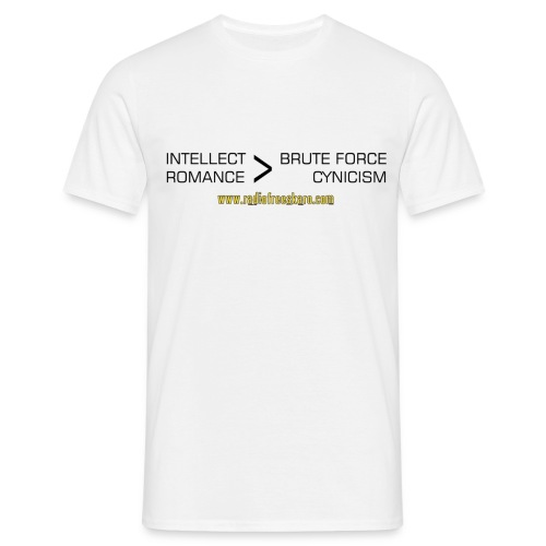 shirt intellect - Men's T-Shirt