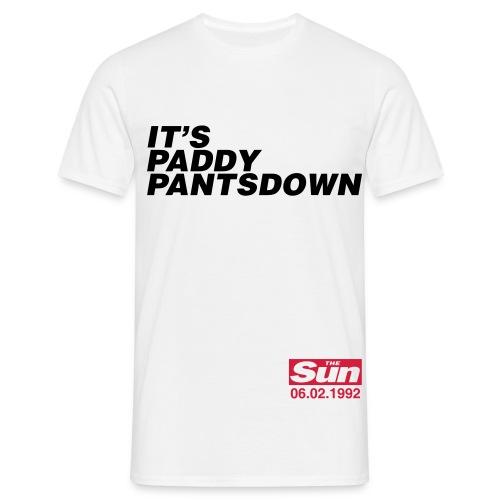 It s Paddy Pantsdown 1 - Men's T-Shirt