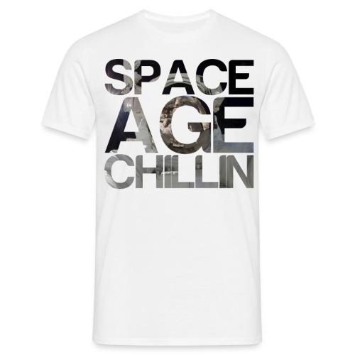 Space Age Chillin Astronaut - Men's T-Shirt