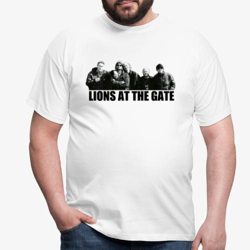 LIONS AT THE GATE SHIRT (WHITE) - Mannen T-shirt