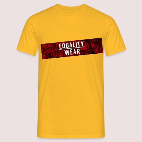 Equality Wear Long Rose Print Edition - Men's T-Shirt