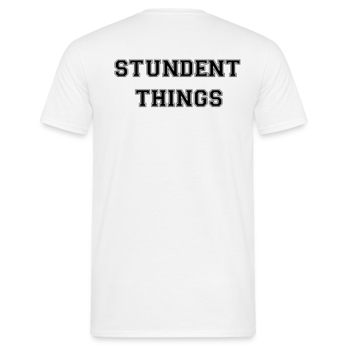 studentthings png - Männer T-Shirt
