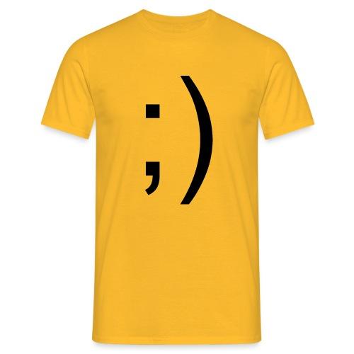 Wink Wink Smile - Men's T-Shirt