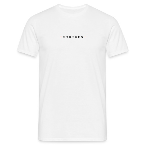 Strikes Basic T - small logo - Mannen T-shirt