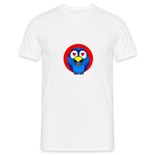 Bird in love - T-shirt Homme