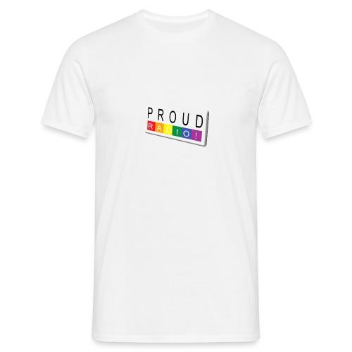 Proudradioschuin - Mannen T-shirt