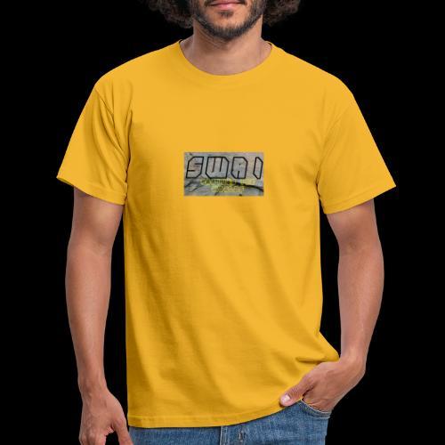 swai stoned boxlogo - Männer T-Shirt