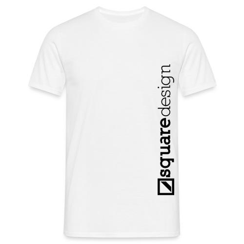SquareDesign Logo Typ2 png - Männer T-Shirt