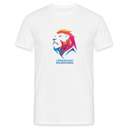 Löwenstadt Design 7 - Männer T-Shirt