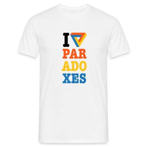 I love paradoxes - Men's T-Shirt