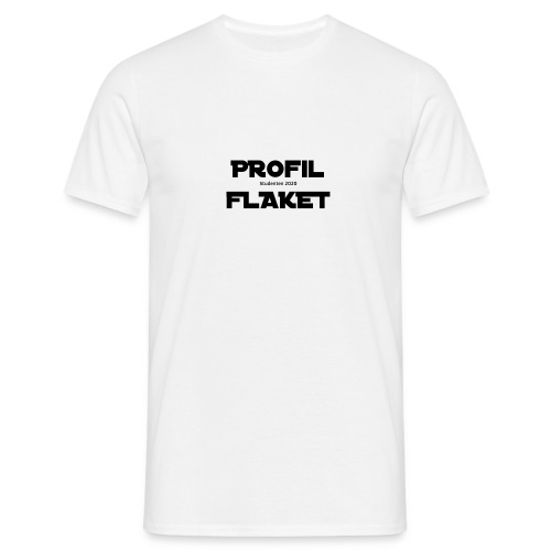 PROFILFLAKET - Official Merch - T-shirt herr