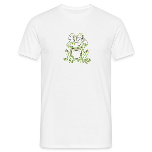 Frog Says png - Men's T-Shirt