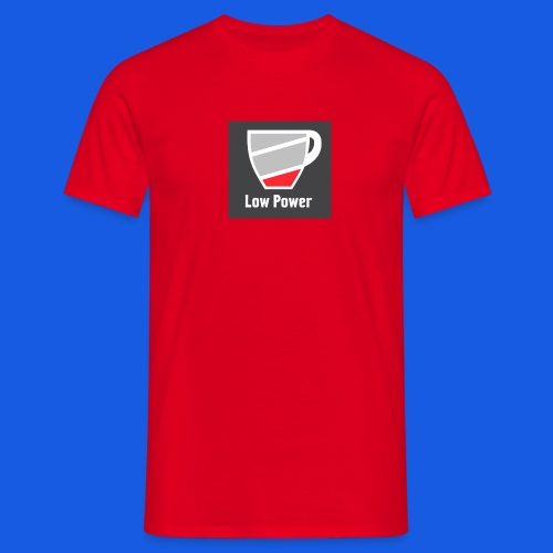 Low power need refill - Herre-T-shirt