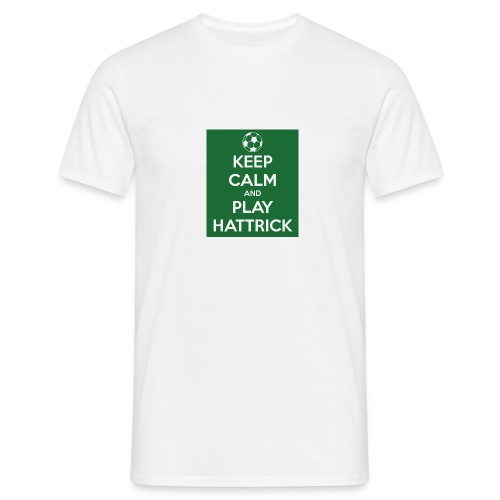 keep calm and play hattrick - Maglietta da uomo