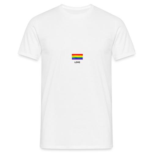 love is love Shirt - Männer T-Shirt