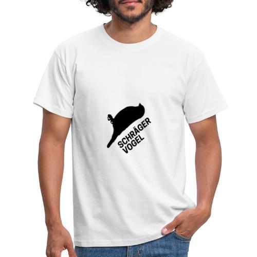 Schräger Vogel - Männer T-Shirt