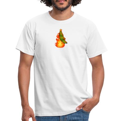 Christmas Flame - Maglietta da uomo
