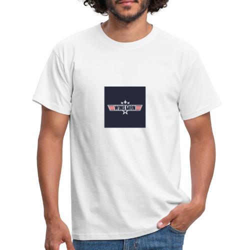 top gun wingman design - Camiseta hombre