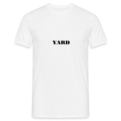 YARD basic - Mannen T-shirt