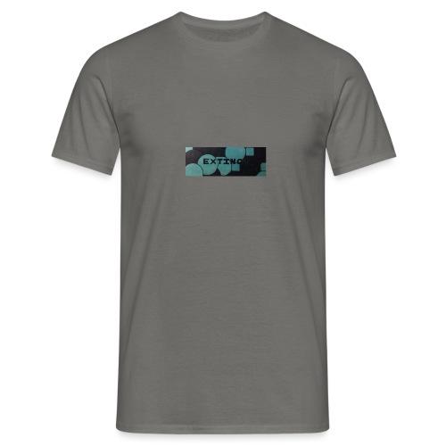 Extinct box logo - Men's T-Shirt