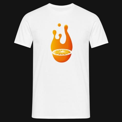 Orange - Männer T-Shirt