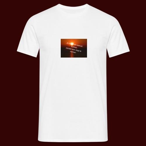 quote1 - Mannen T-shirt