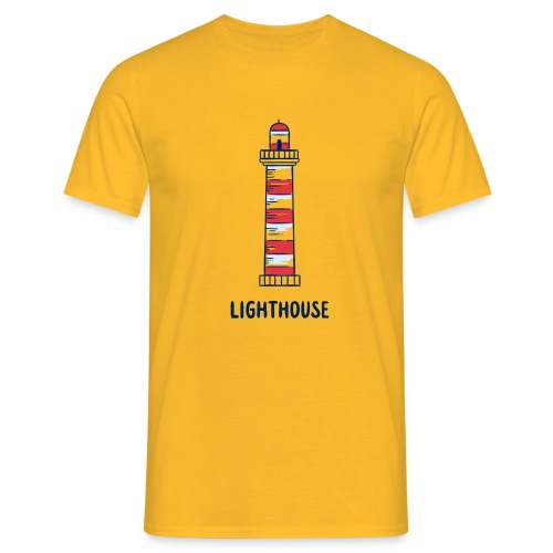 Lighthouse - Männer T-Shirt