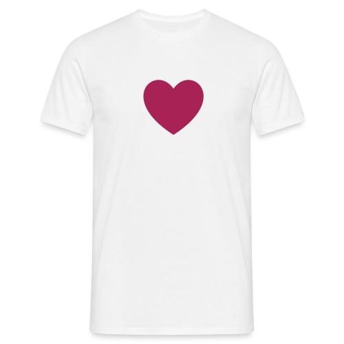 Herz FDP - Männer T-Shirt
