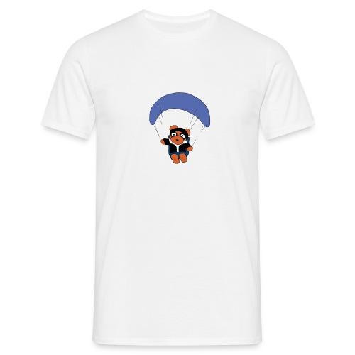 Gleitschirmbär - Männer T-Shirt