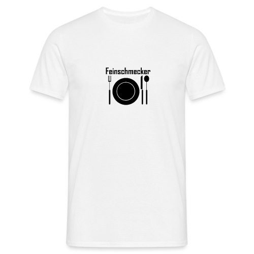 Feinschmecker - Männer T-Shirt