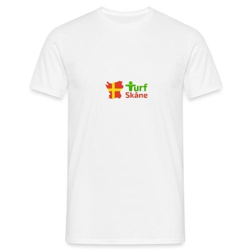 Turf Skåne Logo röd - T-shirt herr