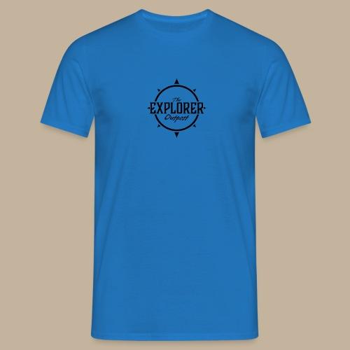 Black TEO Logo - Men's T-Shirt