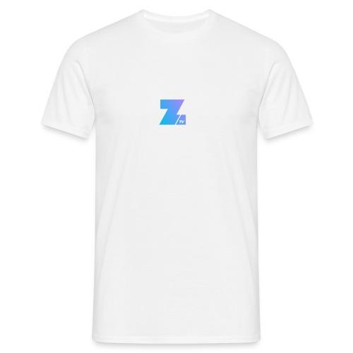 4658 2CSmall logo upload - Men's T-Shirt