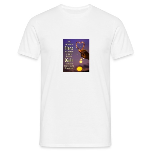 welt - Männer T-Shirt