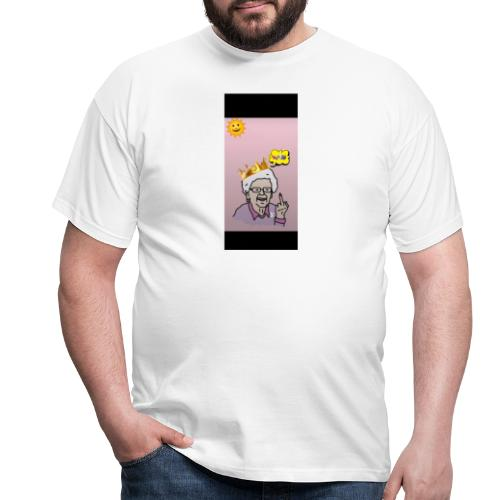 Crazy Grandma - Männer T-Shirt