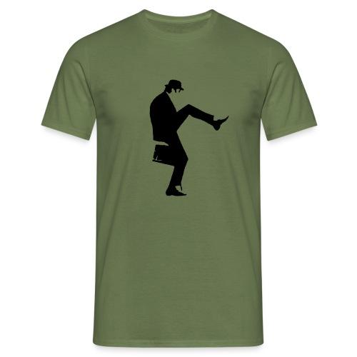 cleese walk black - Men's T-Shirt